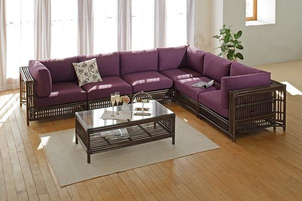 籐のソファー商品一覧